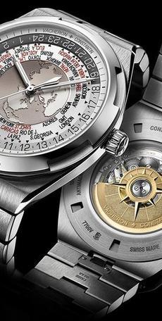 世界时手表也穿运动装---江诗丹顿纵横四海世界时腕表7700V