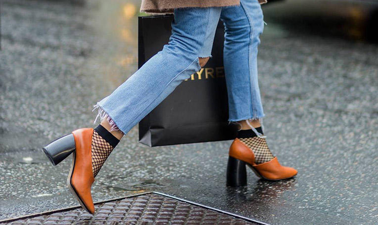 漁網襪竟成時髦關鍵詞?! 漁網襪,你變了…