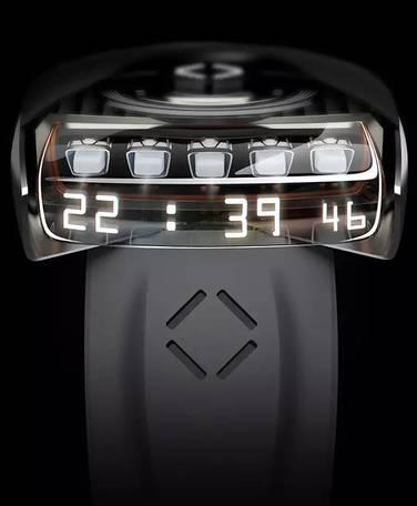 他為法拉第未來設計了一款手表,告訴你時間還可以這么看